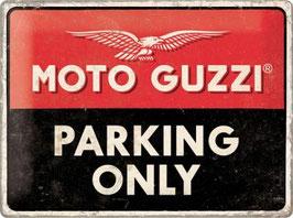 Moto Guzzi POarking Only