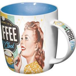 Coffe 'O' Clock Tasse