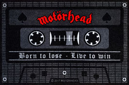 Motörhead Tape Born to lose Live to win