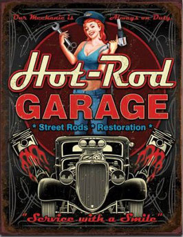Hot Rod Garage - Service With A Smile