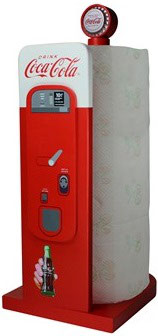 Coca Cola Automat Papierrollenhalter