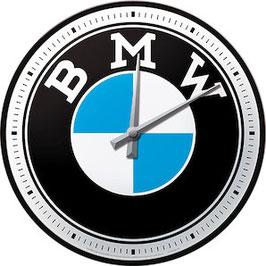 BMW Logo Wanduhr