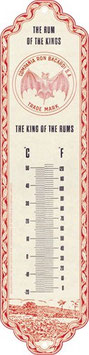 Bacardi The Rum Of The Kings Thermometer