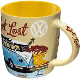 VW Bulli Get Lost Tasse