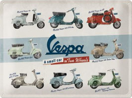 Vespa A small car on Two Wheels