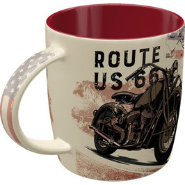 Route 66 Bike Map Tasse
