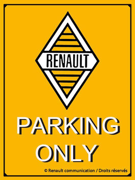 Renault Parking Only