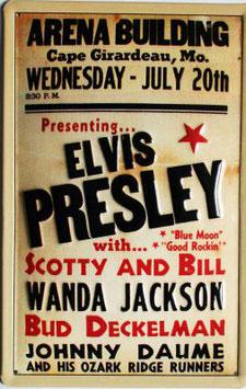 Arena Building Elvis Presley