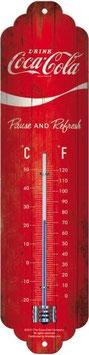 Coca Cola Classic Logo Thermometer