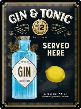 """Gin & Tonic served here """"Gold Edition"""""""