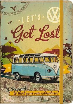 Notizbuch Get Lost