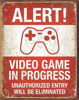 Alert! Video Game in Progress