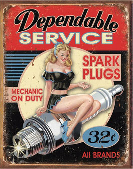 Dependable Service PinUp