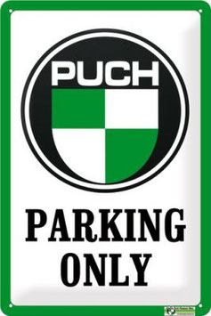 Puch Parking Only