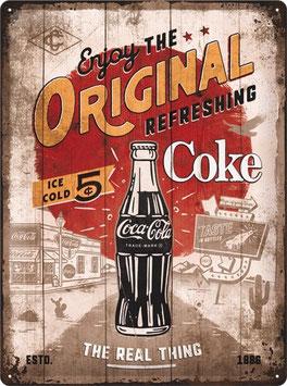Coca Cola Enjoy the Original