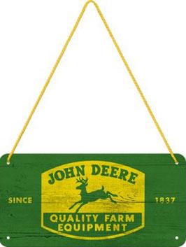 John Deere Hängeschild