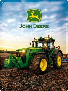 John Deere Traktor Photo hoch