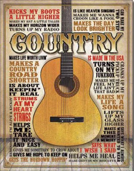 Country Gitarre