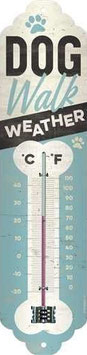 Dog Walk Weather Thermometer