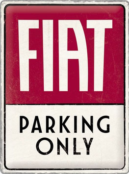 Fiat Parking Only