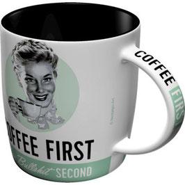 Coffe First Tasse