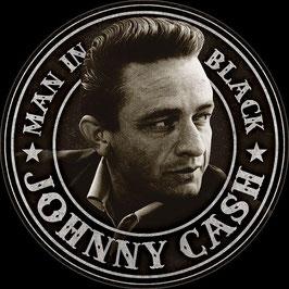 Johnny Cash Man In Black Rund