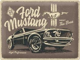 69' Ford Mustang Meet The Boss