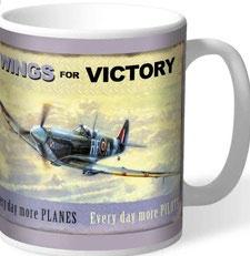 Wings for Victory Tasse