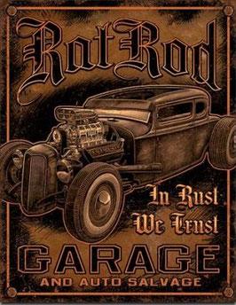 Rat Rod Garage In Rust We Trust