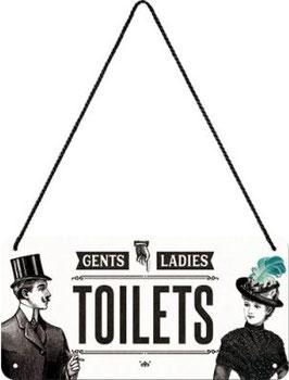 Toilets Hängeschild