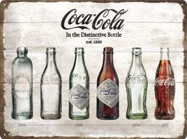 Coca Cola Flaschenlegende 30x40cm