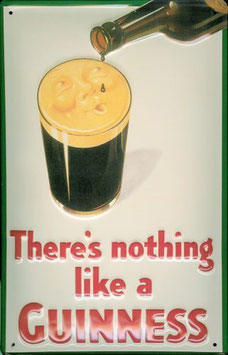 There's nothing like a Guinness Schaumgesicht