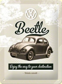 Beetle Think Small