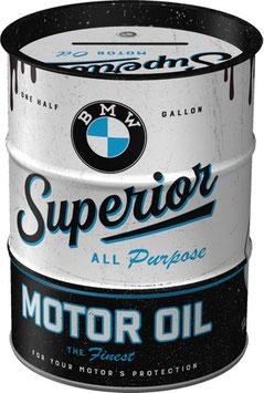 BMW Ölfass Spardose