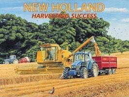 New Holland Harvesting Success