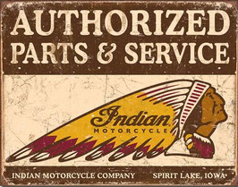 Indian Authorized Parts & Service
