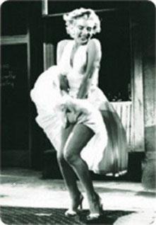 Marilyn Monroe Rock hoch