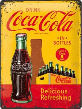 Coca Cola gelb