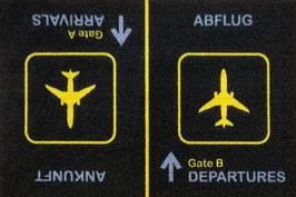 Gate A Gate B Fussmatte