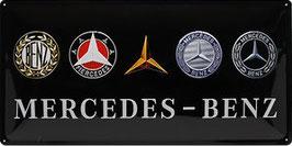 Mercedes Benz Classic Logos 25x50