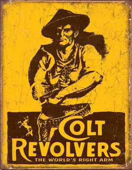 Colt Revolvers The World's Right Arm