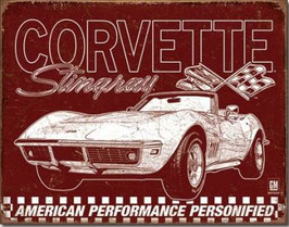 Corvette Stingray American Performance Personified
