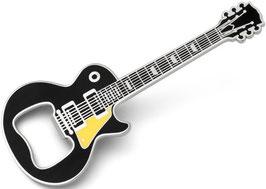 Gitarren Flaschenöffner schwarz magnetisch