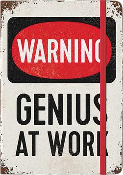 Notizbuch Genius At Work