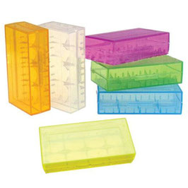 Batterie Case Plastik 2er