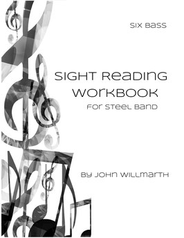Sight Reading Workbook for Steel Band - Six Bass