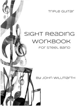 Sight Reading Workbook for Steel Band - Triple Guitar