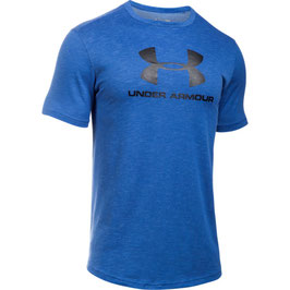 UNDER ARMOUR Sportstyle Branded Tee Blue Marker / Black