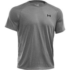 UNDER ARMOUR Tech T-Shirt Grey / Black