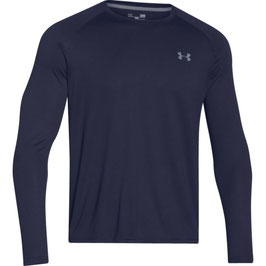 UNDER ARMOUR Tech Longsleeve Midnight Navy / Steel